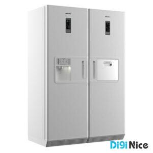 یخچال فریزر دوقلو هیمالیا مدل دلتا هوم پلاس Home Plus