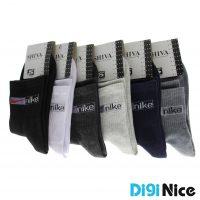 جوراب ساق دار نایک (Nike) بسته 6 عددی