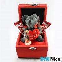 باکس هدیه ولنتاین مدل DN15