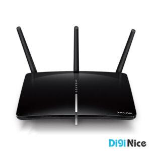 مودم روتر +ADSL2 دو بانده بی سیم AC1750 تی پی-لینک مدل Archer D7