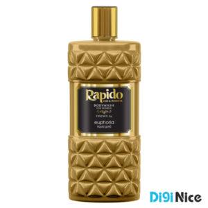 شامپو بدن لوکس راپیدو مدل EUPHORIA Liquid Gold حجم 400