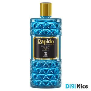 شامپو بدن لوکس راپیدو مدل BLUE CHANEL حجم 400