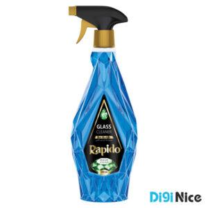 مایع شیشه پاک کن لوکس راپیدو آبی