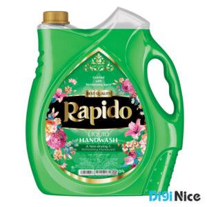 مایع دستشویی صدفی راپیدو حجم 3750 سبز