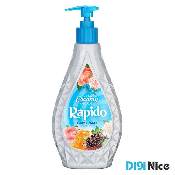 مایع دستشویی لوکس کرمی راپیدو حجم 450 آبی