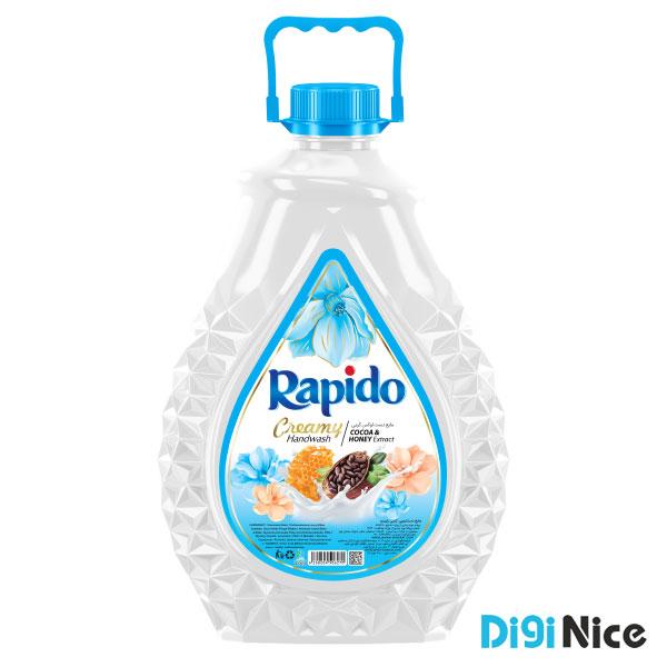 مایع دستشویی لوکس کرمی راپیدو حجم 3000 آبی