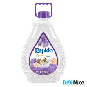 مایع دستشویی لوکس کرمی راپیدو حجم 3000 بنفش