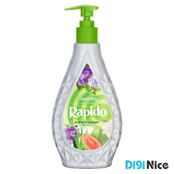 مایع دستشویی لوکس کرمی راپیدو حجم 450 سبز
