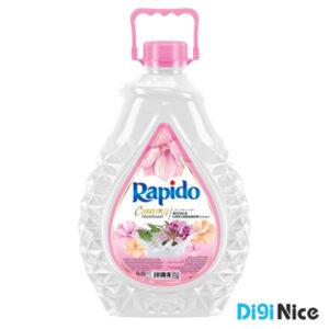 مایع دستشویی لوکس کرمی راپیدو حجم 3000 صورتی