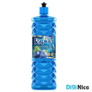 مایع ظرفشویی کریستالی آبی راپیدو حجم 900