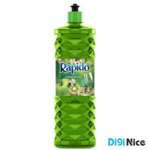 مایع ظرفشویی کریستالی سبز راپیدو حجم 900