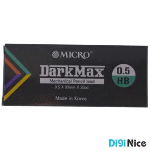 نوک مداد نوکی 0.5 میکرو مدل Darkmax بسته 12 عددی