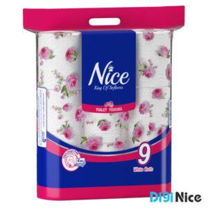 دستمال توالت 9 قلو نایس