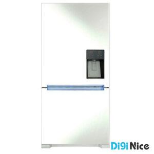 یخچال فریزر اسنوا فریزر پایین مدل SR-BI280WL سفید متالیک
