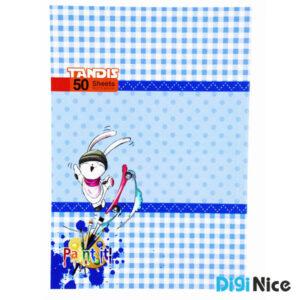 دفتر نقاشی تندیس 50 برگ طرح کلاسیک کد DN991608