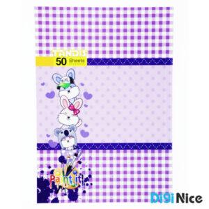 دفتر نقاشی تندیس 50 برگ طرح کلاسیک کد DN991603