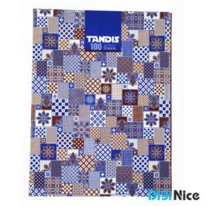 دفتر کلاسوری تندیس 100 برگ جلد سخت کد DN991706