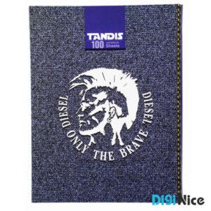 دفتر کلاسوری تندیس 100 برگ جلد سخت کد DN991703
