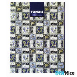 دفتر کلاسوری تندیس 100 برگ جلد سخت کد DN991708