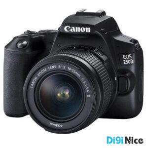 دوربین دیجیتال کانن مدل EOS 250D به همراه لنز 18-55 میلی متر DC III
