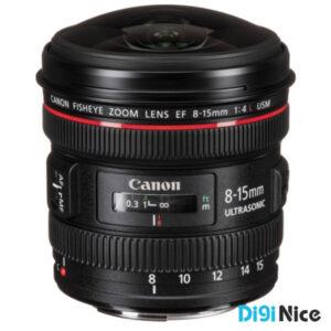 لنز دوربین کانن EF 8-15mm f/4L USM Fisheye