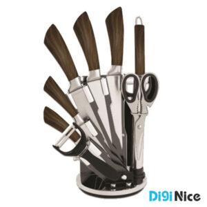 سرویس چاقو 9 پارچه دلمونتی مدل DL 1530