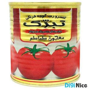 رب گوجه فرنگی تبرک وزن 800 گرم