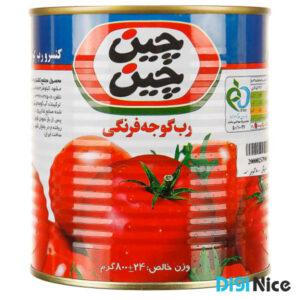رب گوجه فرنگی چین چین وزن 800 گرم