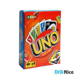 بازی کارتی اونو UNO مدل 54