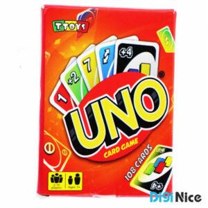 بازی کارتی اونو UNO مدل 108