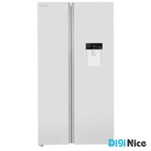 یخچال فریزر ساید بای ساید ایکس ویژن مدل TS550 سفید