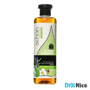 شامپو تقویت کننده هفت گیاه مو شون حجم 300 میلی لیتر