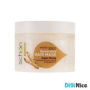 ماسک مو ترمیم کننده شون با عصاره جینسینگ حجم 300 میلی لیتر