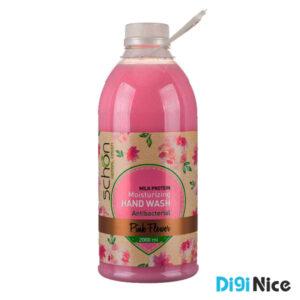 مایع دستشویی شون مدل Pink Flower حجم 2000 میلی لیتر